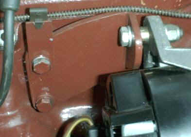 MGB Alternator Bracket
