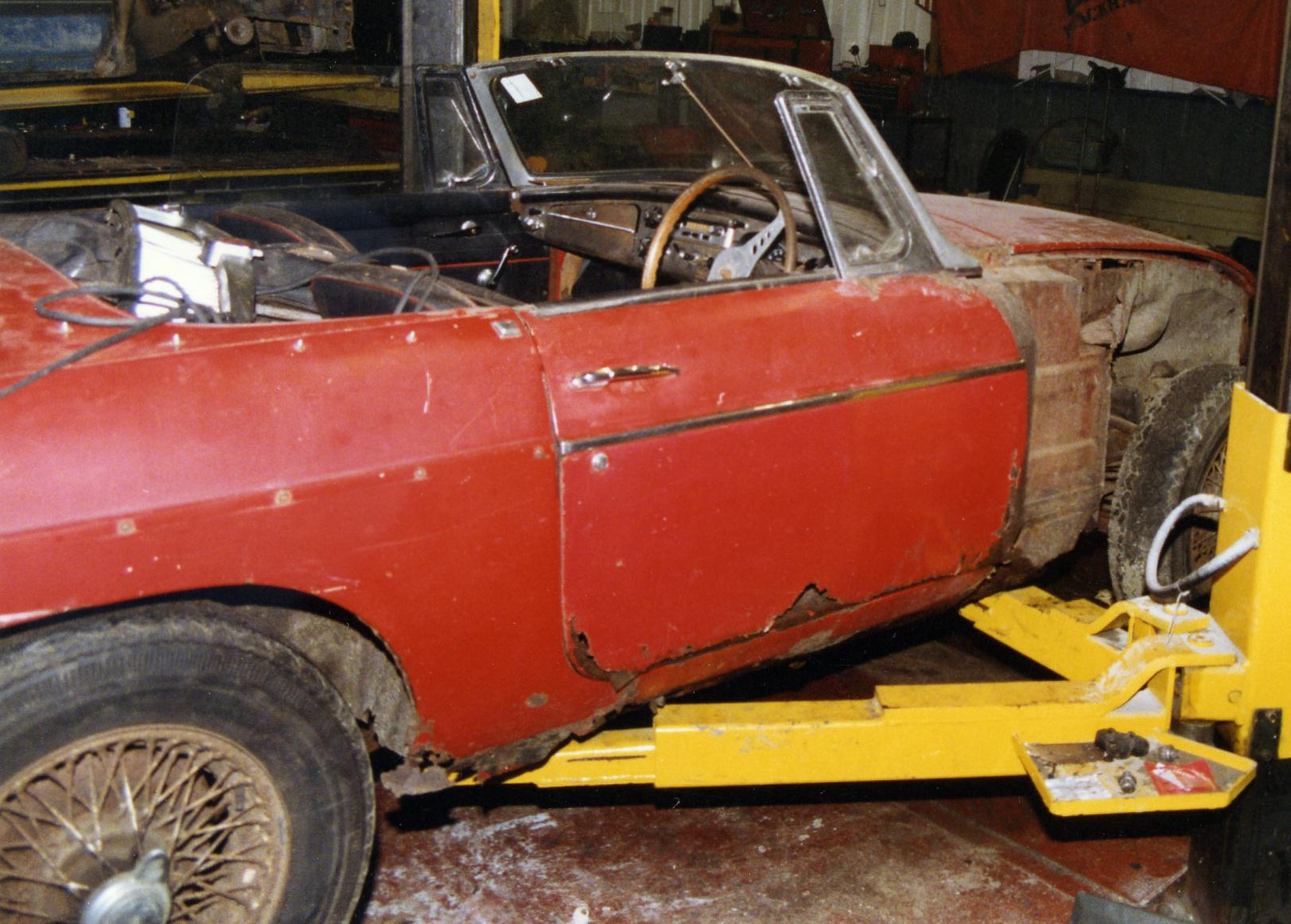 MGB Roadster project car